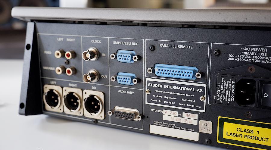 STUDER A730/スチューダーA730 業務用CDプレーヤー