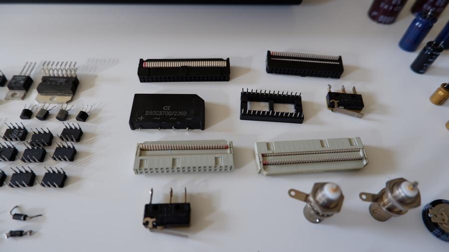 STUDER A730・スチューダーA730|ソケット類なども新品へ交換