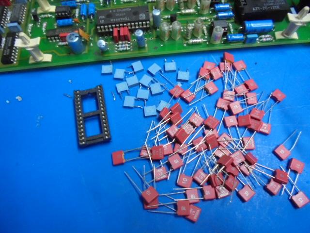 STUDER A730・スチューダーA730|)DAC_IC_ソケット_フイルムコンデンサー(WAMA)に交換
