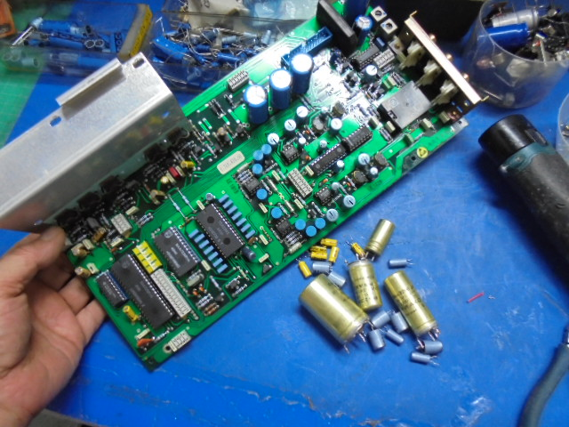 STUDER A727 CD Player アナログ回路部分の整備