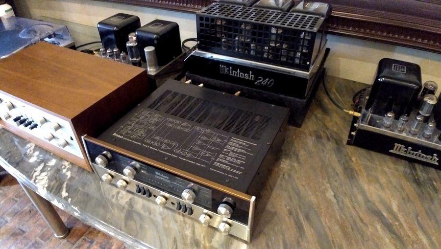 JBL4350WXAを鳴らすMcIntoshシステム