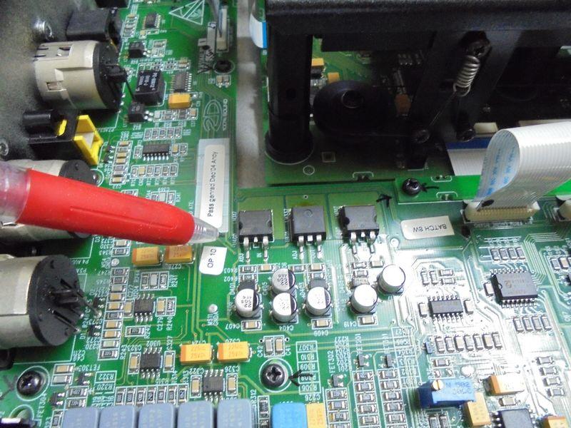 内部のレギュレーターの発熱を緩和するためヒートシンクを製作取り付けすることにし