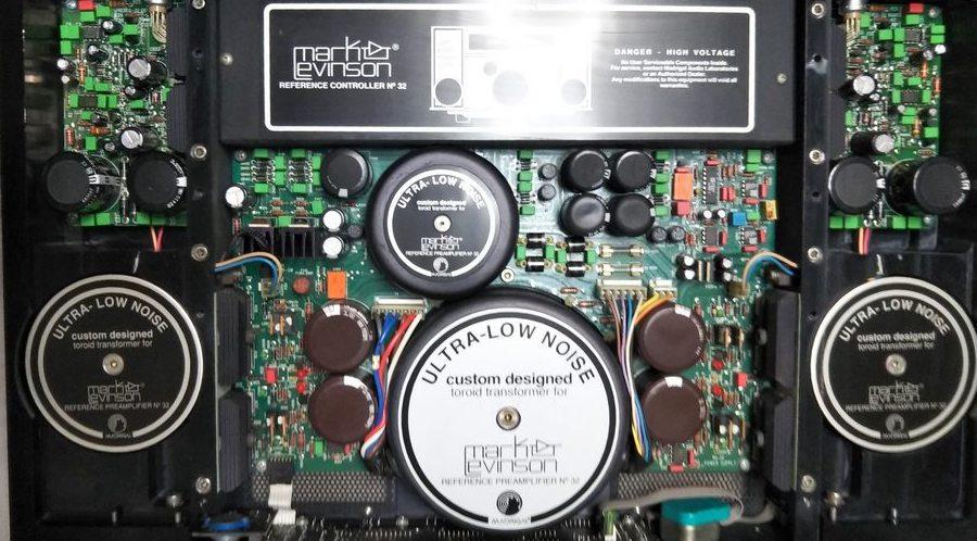 マークレビンソンNo.32Lのコントロール基板