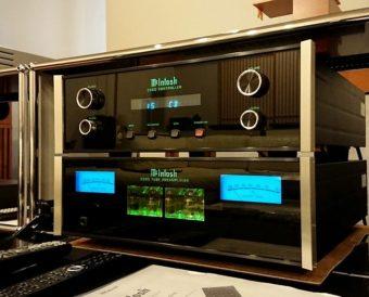 McIntosh C500-C500T 真空管プリアンプ Listen view