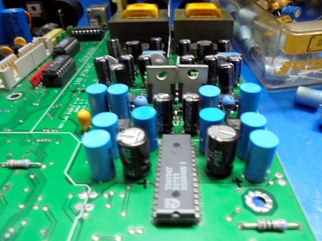 STUDER D731オーバーホール整備 出力部の整備前