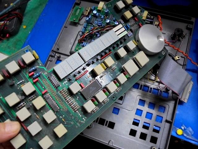 STUDER A730オーバーホール整備 操作パネルの整備