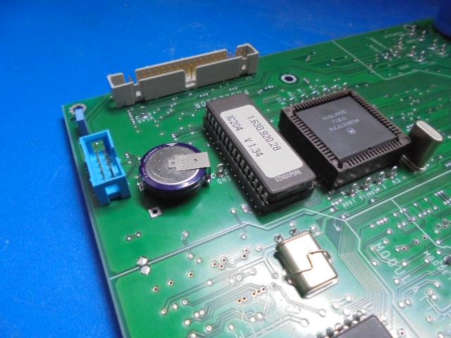 STUDER D731オーバーホール整備 電池がコンデンサへ交換されていました